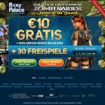 Geld geschenkt und Free Spins – die Bonusaktion zu Tomb Raider im Roxy Palace