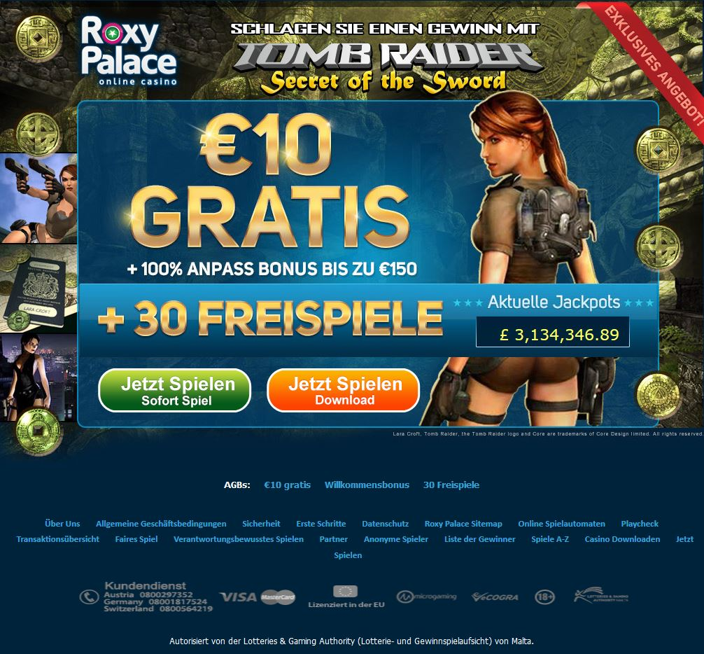 roxy palace online casino slots gratis spielen ohne download